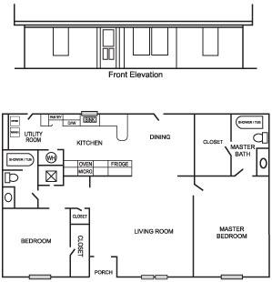 Caddo 1 Floor Plan