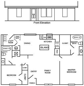 Caddo 2 Floor Plan