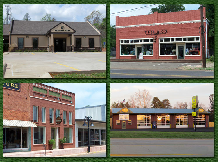 Commercial Buildings Collage