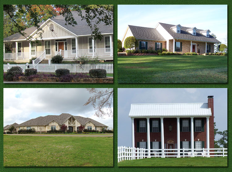 Custom built homes jefferson custom built homes for Custom made homes