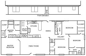 Ponderosa 1 Floor Plan